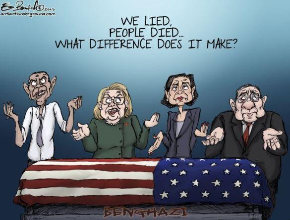 we lied