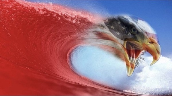 A Red Wave Rising - Lyrics and Poems by M. Vaughn Duck - Medium